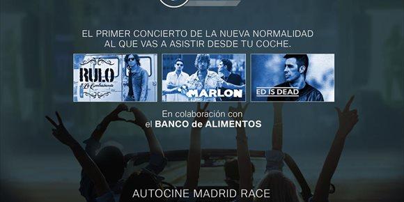 7. Rulo y La Contrabanda, Marlon y Ed is Dead, el 17 de junio en el autocine de Madrid en el BMW Drive-In Fest