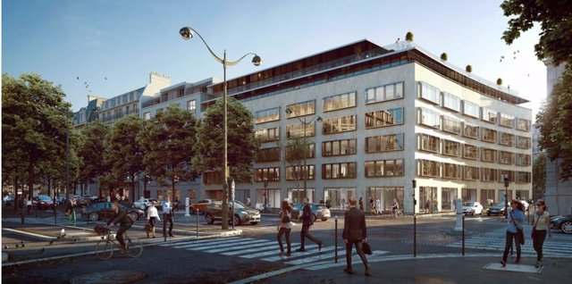 Edificio de Colonial en París alquilado a Goldman Sachs