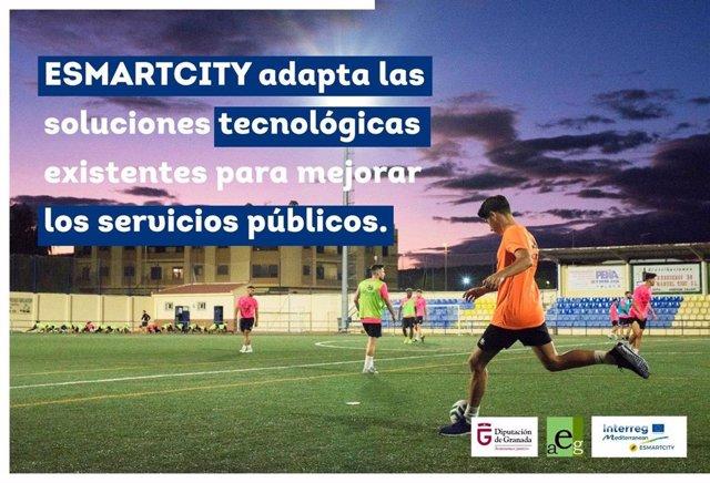 Cartel del proyecto 'Esmartcity'