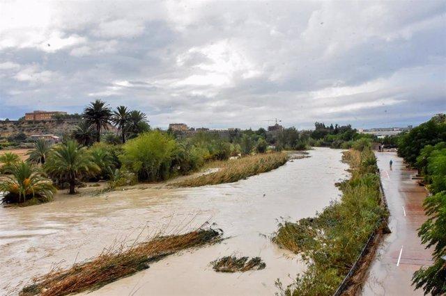 Inundaciones en Archena por los efectos de la gota fría, DANA