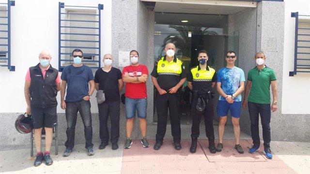 Ningún contagiado en la plantilla de Policía Local de Guillena tras someterse a test del Covid-19