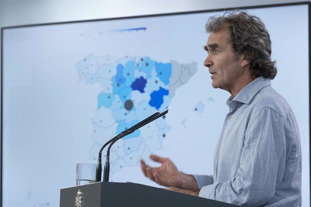Rueda de prensa de Fernando Simón para informar sobre novedades del Covid-19