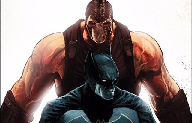 Bane y Batman en los cómics de DC