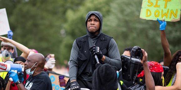 1. Star Wars y Hollywood aplauden el heróico discurso de John Boyega en las protestas del Black Lives Matter