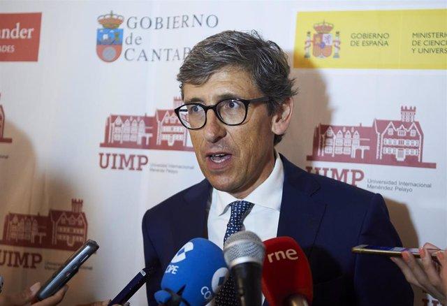 José Arsuaga, presidente de la Audiencia Provincial de Cantabria