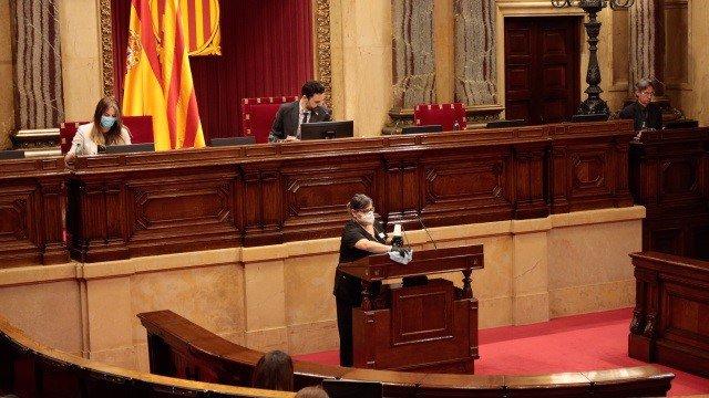 Pleno del Parlament de Catalunya del 4 de junio de 2020