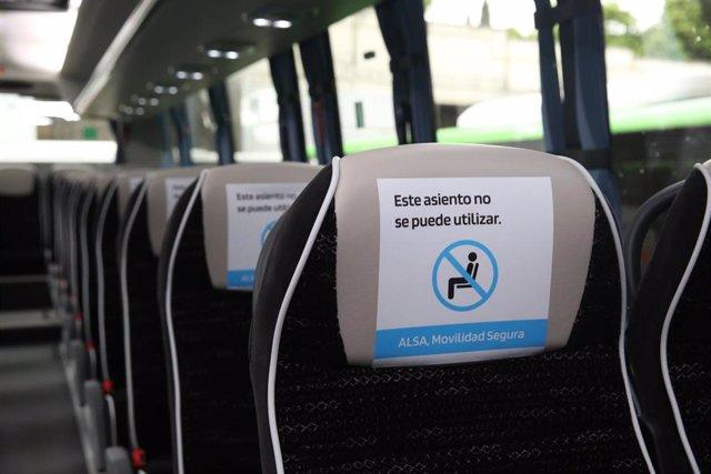 Movilidad segura en autobús