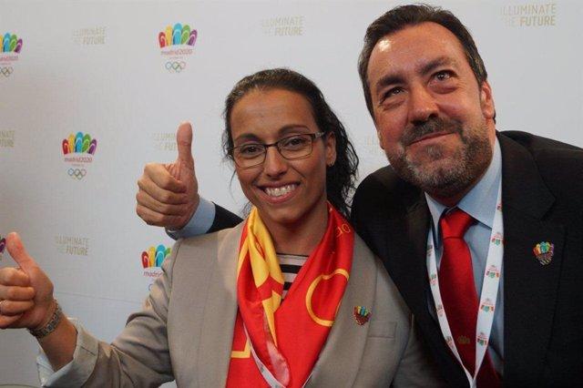 Miguel Carballeda y Teresa Perales, Paralímpicos de Madrid 2020