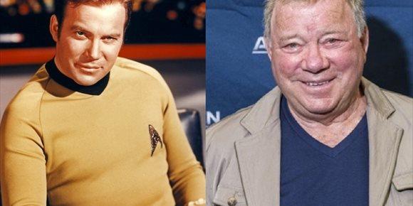 1. El Capitán Kirk (William Shatner) quiere volver a Star Trek... con estas condiciones