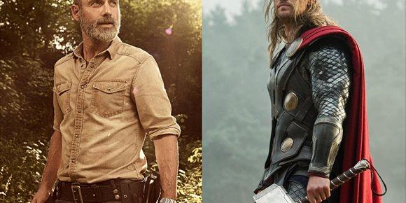 2. El guiño de The Walking Dead a Marvel