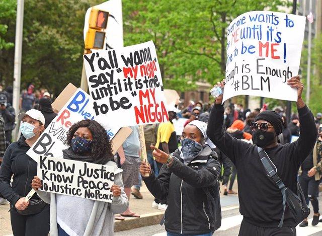 Protestas en Buffalo (Nueva York) por la muerte de George Floyd