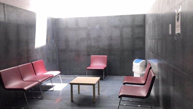 Sala per vis a vis visites familiars i de convivència a la presó de Mas d'Enric, al Catllar (Tarragona).