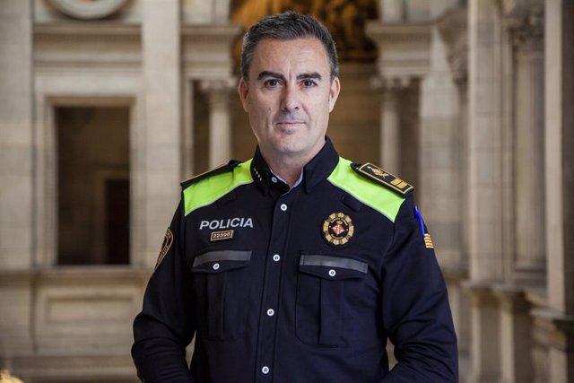 L'intendent major Pedro Velázquez, nou cap de la Guàrdia Urbana de Barcelona.