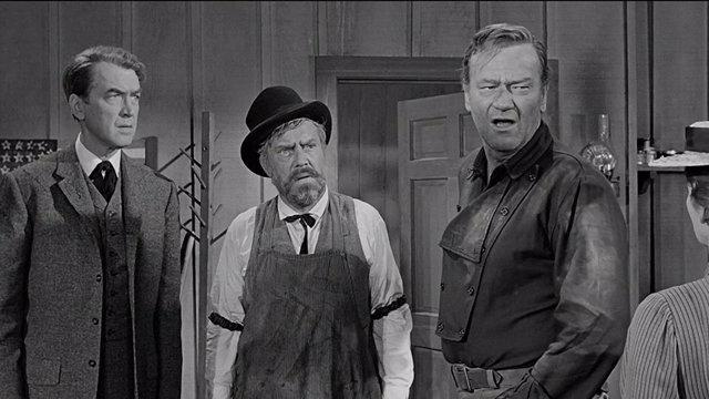 Escena de la película 'El hombre que mató a Liberty Valance'