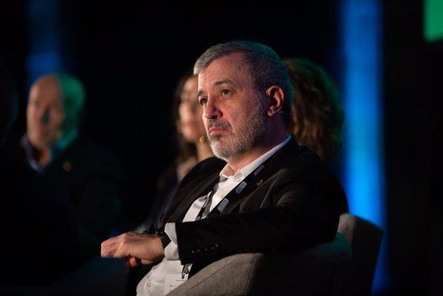 El tinent alcalde de l'Ajuntament de Barcelona, Jaume Collboni durant la inauguració de Tech Spirit Barcelona, a Barcelona (Espanya), a 25 de febrer de 2020.