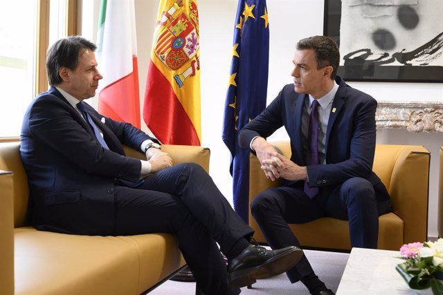 Pedro Sánchez i Giuseppe Conte