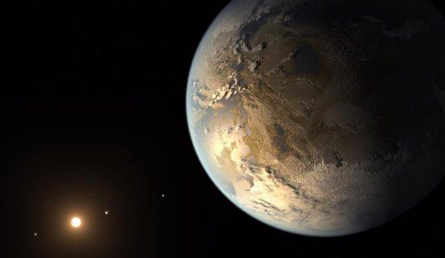 Exoplaneta similar a la joven Tierra