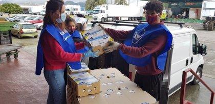 Danone recauda más de 120.000 euros para ayudar a más de 6.000 familias vulnerables