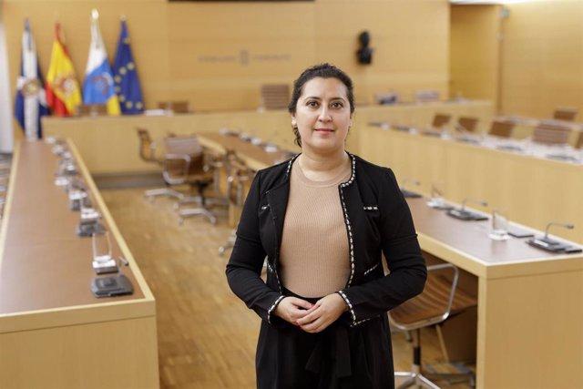 Carmen Luz Baso, consejera de Desarrollo Económico del Cabildo de Tenerife