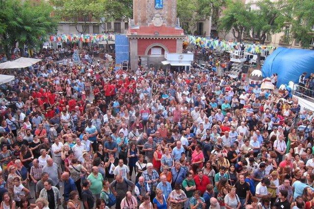 Fiestas de Gràcia de Barcelona (archivo)