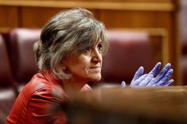 La diputada socialista y exministra de Sanidad, María Luisa Carcedo