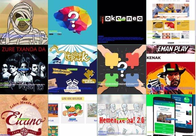 'Gozatu Sarean Euskaraz' Web Ataria.