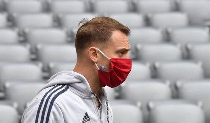 """Neuer: """"Los futbolistas estamos en la misma situación que cualquier otra persona"""""""