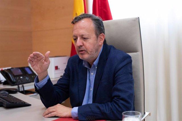 Consejero de Políticas Sociales, Igualdad y Natalidad de la Comunidad de Madrid, Alberto Reyero. Archivo.