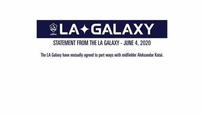 Los Angeles Galaxy prescinde de Aleksandar Katai por los comentarios racistas de su mujer