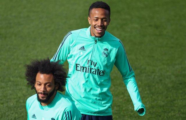 El jugador del Real Madrid Éder Militao
