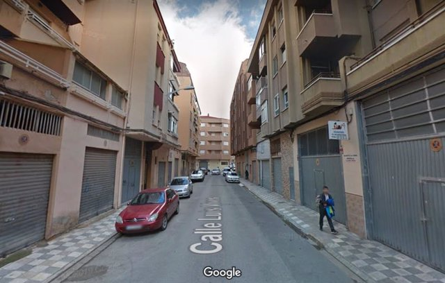 Calle Luis Vives de Albacete