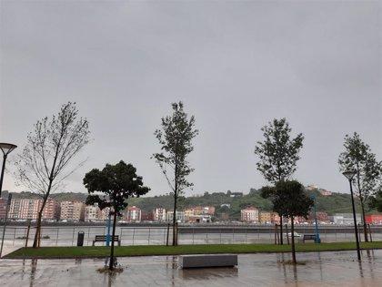 Este sábado vuelve la lluvia a Euskadi y las temperaturas se mantienen sin cambios
