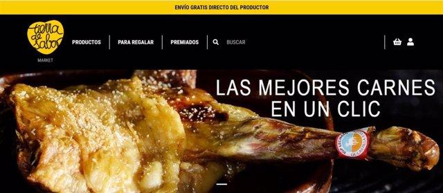 Imagen de archivo del portal Market Tierra de Sabor