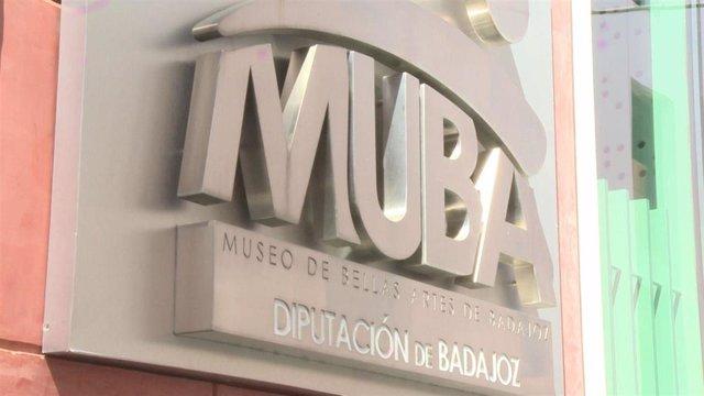 Imágenes del Museo de Bellas Artes (MUBA) de Badajoz.