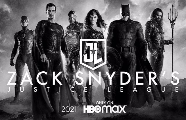 Cartel de Liga de la Justicia de Zack Snyder
