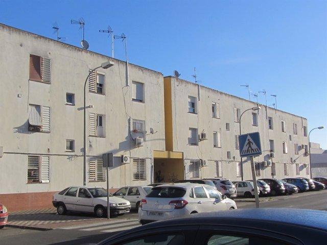 La Junta licita la rehabilitación energética de 36 viviendas públicas de alquiler en Camas (Sevilla).