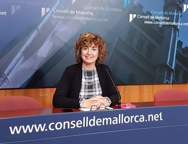 La portavoz de El PI en el Consell de Mallorca, Xisca Mora.
