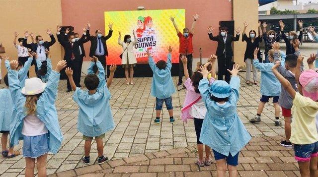 Escuela infantil en Portugal