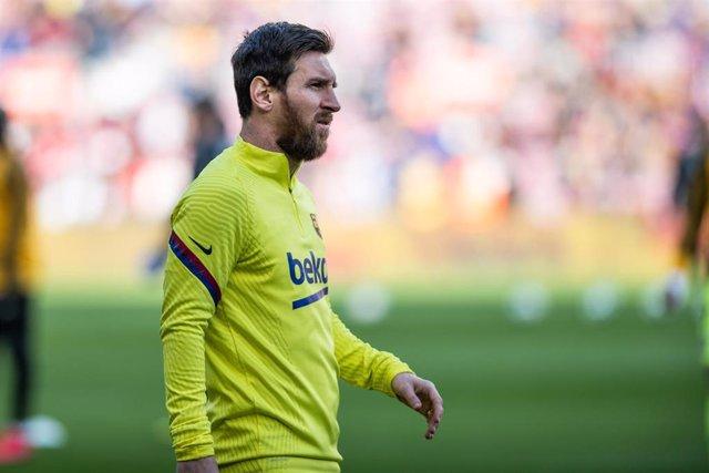El jugador del FC Barcelona Lionel Messi