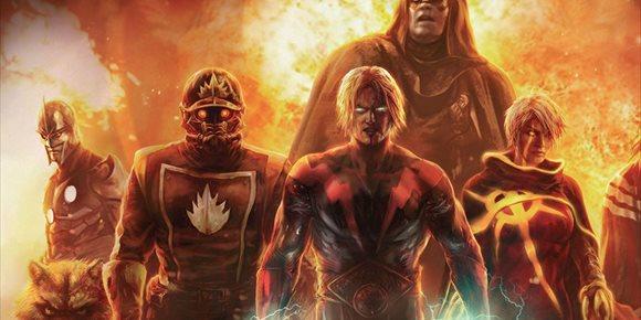 1. Annihilation: Así prepara Marvel a llegada de Adam Warlock al UCM