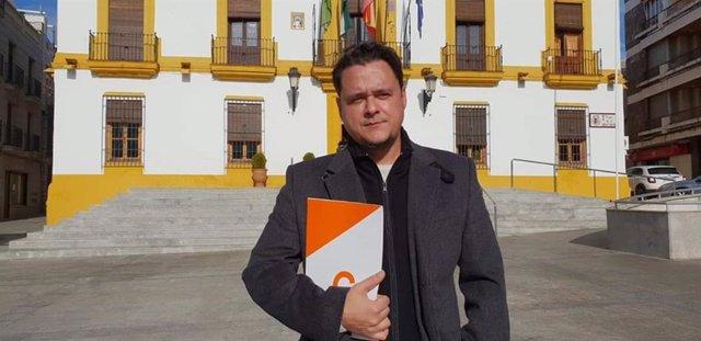 Juan Leiva, portavoz de la agrupación de Ciudadanos (Cs) en Bailén (Jaén).
