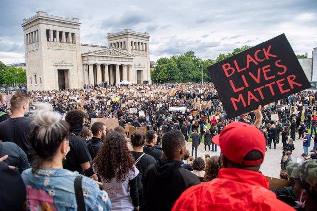 Protestas contra el racismo en Múnich