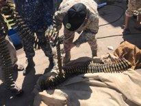 Milicianos de Misrata leales al Gobierno de unidad