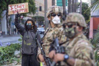 La Guardia Nacional ya ha desplegado a más de 43.300 militares para atajar los disturbios en EEUU