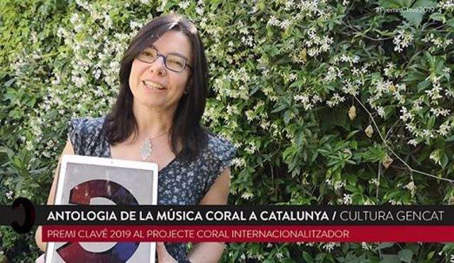 Maria Àngels Blasco i Rovira, una de las autoras de la 'Antología de música coral en Catalunya'.