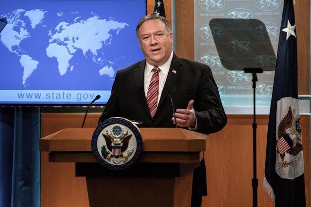 EEUU.- Pompeo asegura que China intenta aprovechar políticamente la muerte de Ge