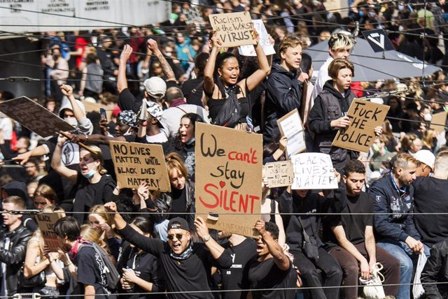 Protestas contra el racismo en Berlín