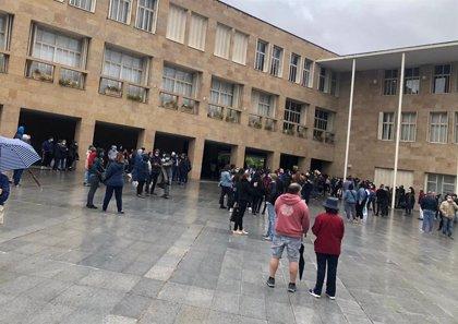 """Una concentración contra el racismo y la violencia recuerda a George Floyd en Logroño: """"Todas las vidas valen lo mismo"""""""