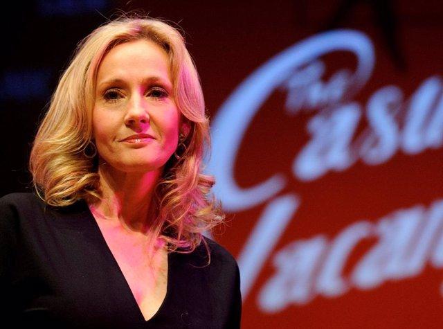 J.K Rowling presenta su libro 'The Casual Vacancy' en Londres