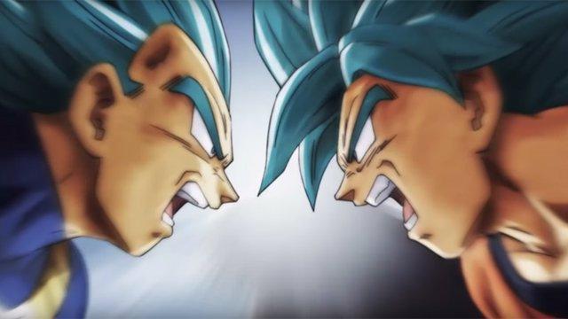 Goku y Vegeta en el final de Dragon Ball Super